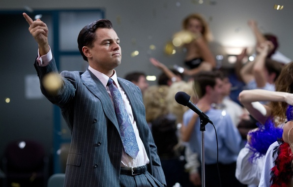 Picture the film, drama, Leonardo DiCaprio, The Wolf of Wall Street, The wolf of wall street