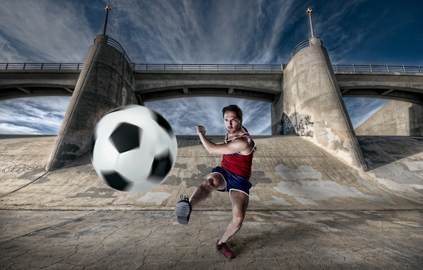 Picture football, sport, the ball