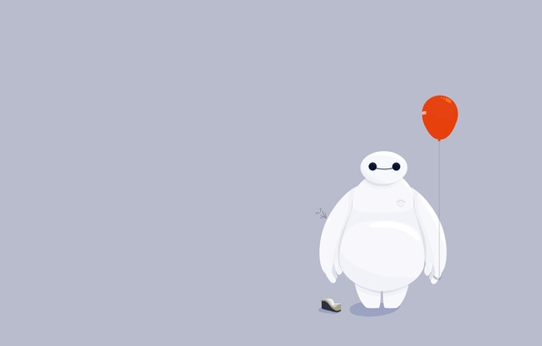 Picture ball, Big Hero 6, Baymax, City of heroes