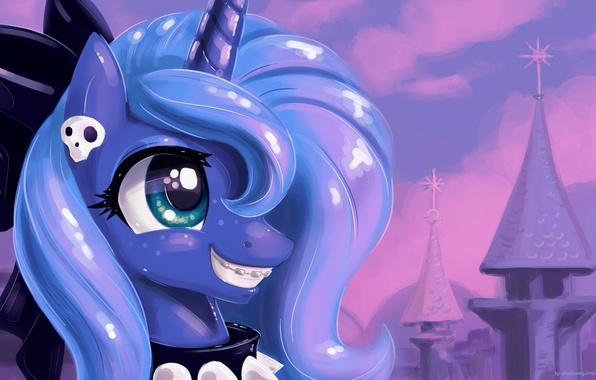 Wallpaper color luna my little pony pony mlp princess - Princess luna screensaver ...