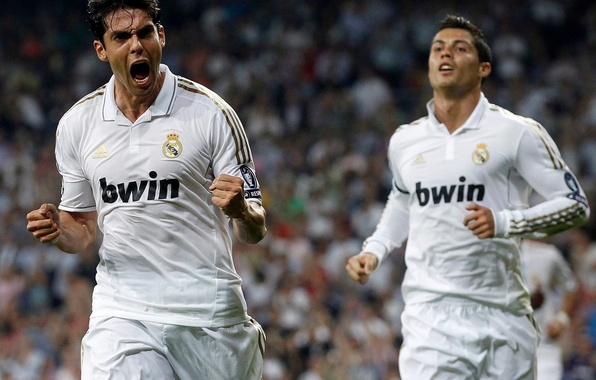 Picture football, real madrid, real Madrid, football, CR7, C.Ronaldo, Cristiano Ronaldo, Ricardo Kaka, Ricardo Kaka