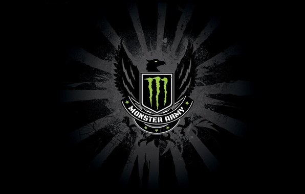 Picture monster, army, energy