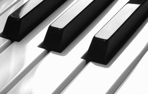 Picture music, piano, keys, piano