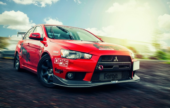 Picture speed, Mitsubishi, Lancer, Evolution