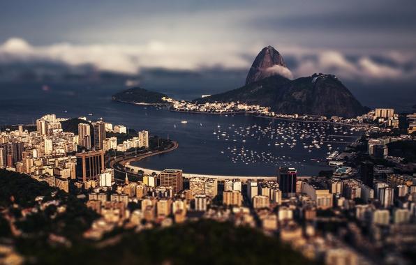 Picture clouds, boats, Bay, Brazil, Rio de Janeiro, clouds, boats, Brazil, Brasil, Rio de Janeiro, bay, …