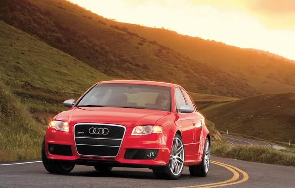 Picture road, Audi, audi, road, way