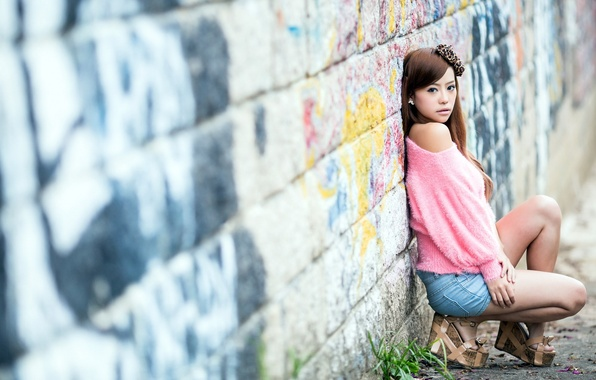 Picture wall, mood, girl