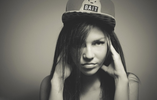 Picture girl, photo, model, cap, swag, syle