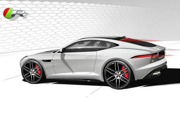 Picture car, figure, Jaguar, F-Type, R Coupe