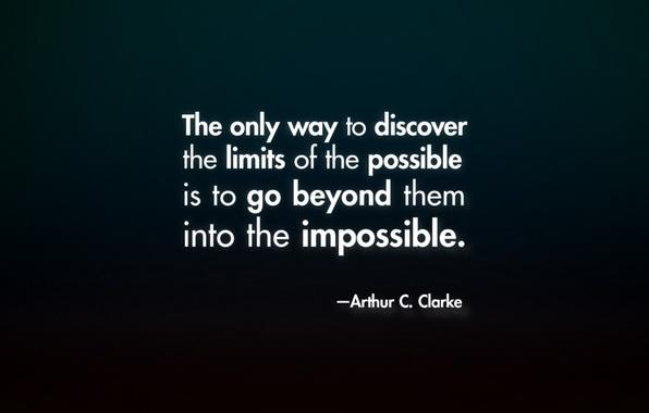 Picture the idea, limits, quote