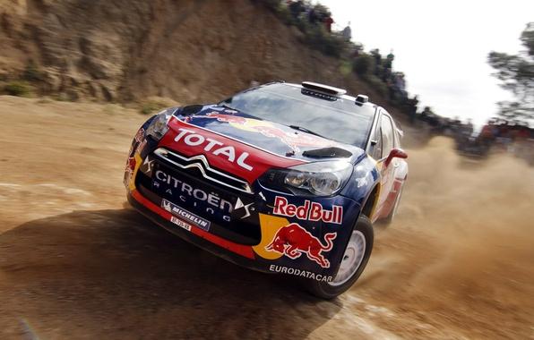 Picture auto, skid, rally, WRC, citroen, Rally, Sebastien Loeb
