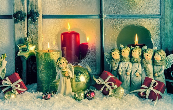 picture decoration toys candles angels new year christmas christmas