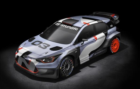 Picture Concept, Hyundai, WRC, i20, 2015, Hyundai