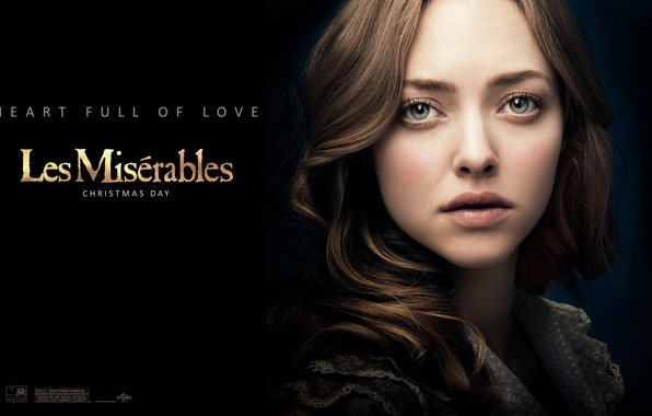 Picture movie, actress, Amanda Seyfried, Les Miserables