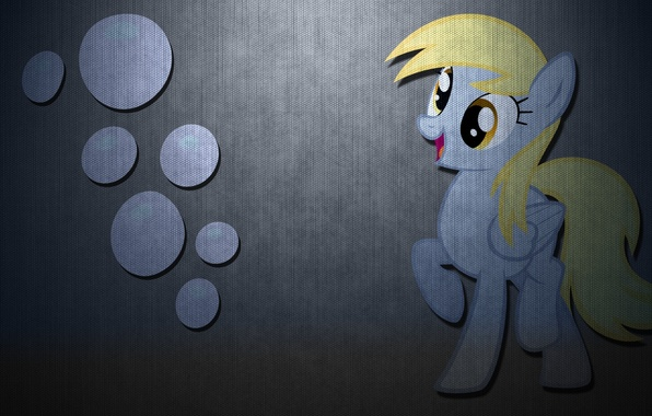 Photo Wallpaper Carbon My Little Pony Derpy Hooves