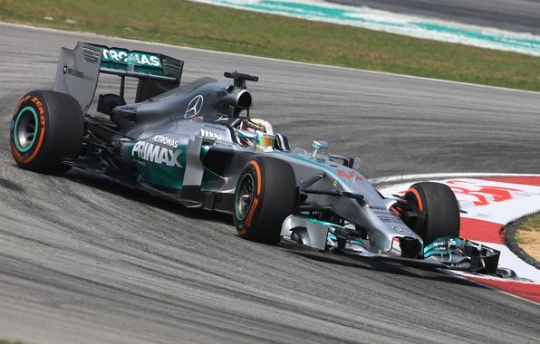 Picture Mercedes, Formula 1, AMG, Lewis Hamilton, V6 1.6l Turbo, F1 W05