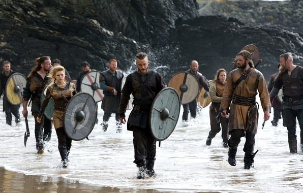 Picture the series, warriors, historical, Vikings, The Vikings, Travis Fimmel