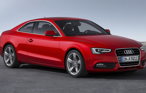 Picture Audi, Audi, coupe, red, Coupe, 2014