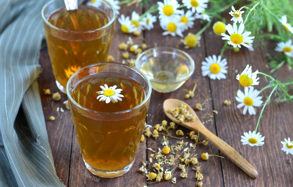 Picture tea, Daisy, drink
