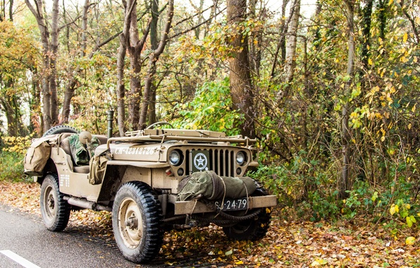 """Picture war, car, army, Jeep, high, patency, world, Second, times, """"Willis-MV"""", Willys MB"""