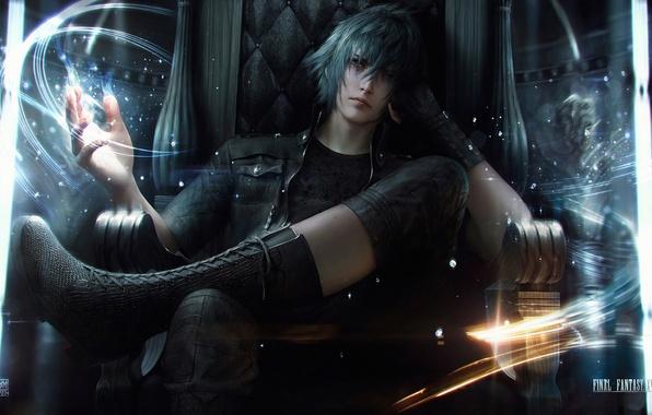 Picture guy, Final Fantasy, Night Light Sky, Final Fantasy 13
