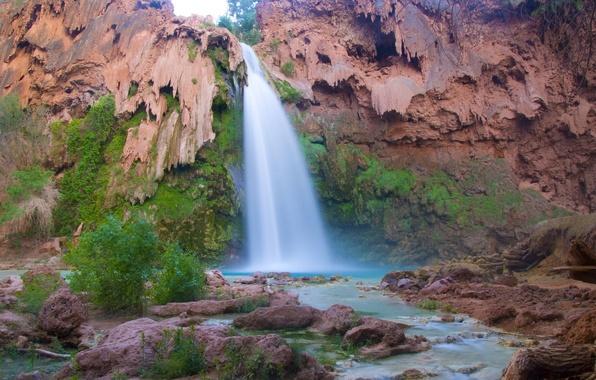 Picture rock, AZ, The Grand Canyon, Arizona, Grand Canyon, Havasu Falls, Havasu falls, The Grand canyon