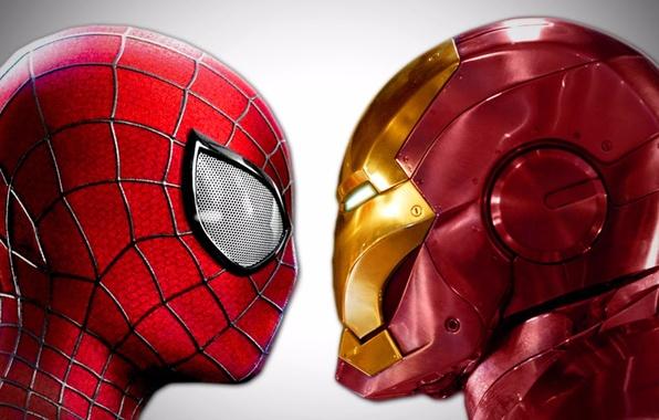 Wallpaper Background Marvel Iron Man Comics Tony Stark Peter