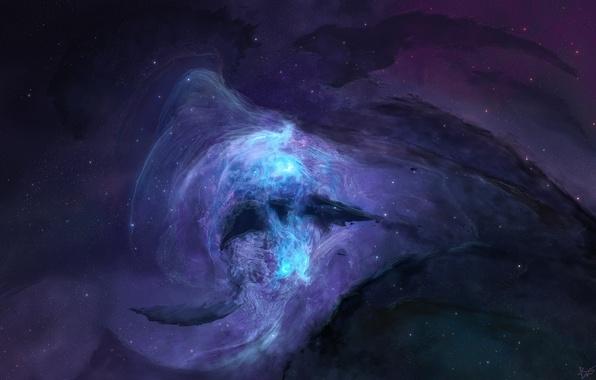 Picture stars, nebula, Galaxy