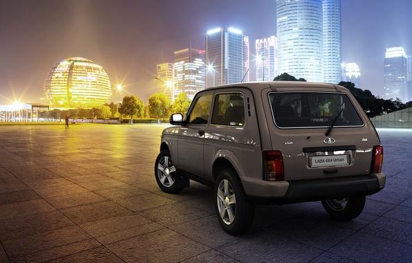 Picture SUV, car, megapolis, Urban, Lada, 4x4, LADA, Niva, VAZ, crossover, a best-seller., urban, equipment