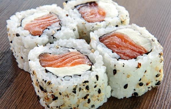 Picture fish, sushi, sushi, sesame, fish, sesame, Japanese cuisine, Japanese cuisine