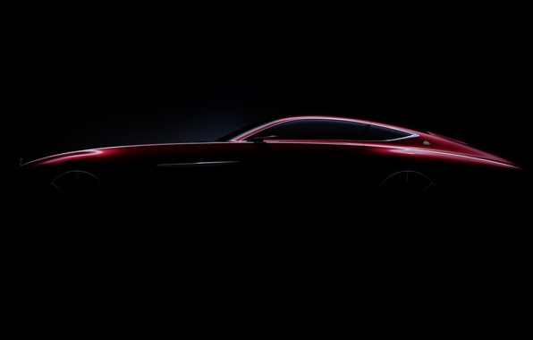 Picture car, wallpaper, Mercedes, red, black, Maybach, beauty, comfort, luxury, automobiles, vehicle, official wallpaper, desing, bold …