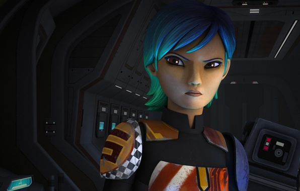 Wallpaper Animated Series Star Wars Rebels Star Wars Rebels Sabine Wren Sabine Wren Clan Visla Images For Desktop Section Filmy Download