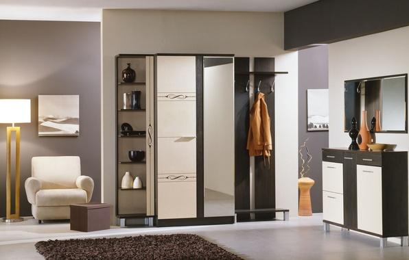 Picture design, style, interior, corridor, entrance hall