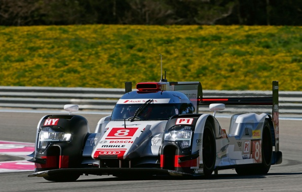 Picture Audi, Audi, sport, supercar, quattro, LMP1, R18, e-Tron, 2015