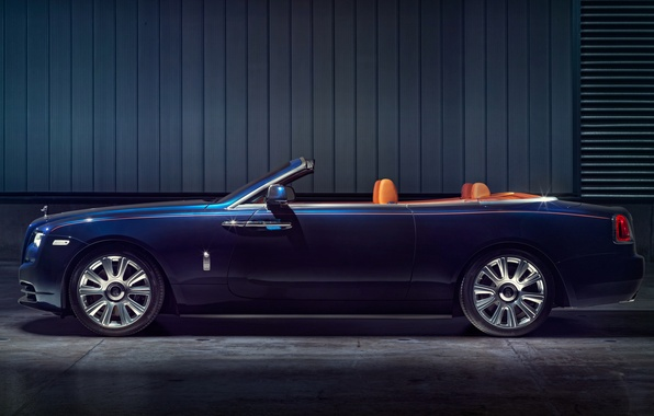 Picture car, convertible, Rolls-Royce Dawn