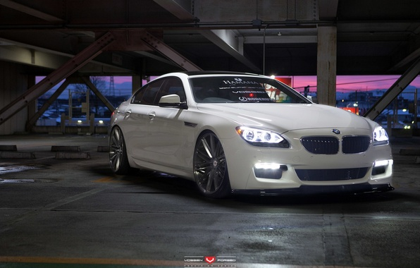 Picture machine, auto, lights, BMW, BMW, before, wheels, drives, auto, 2015, Vossen Wheels, DRL