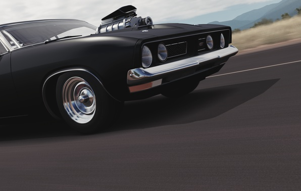 Picture speed, Microsoft, muscle car, Forza Horizon 3