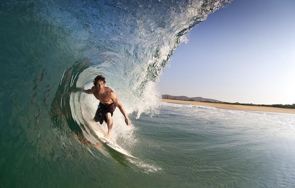 Picture the ocean, wave, Mexico, surfing, surfer