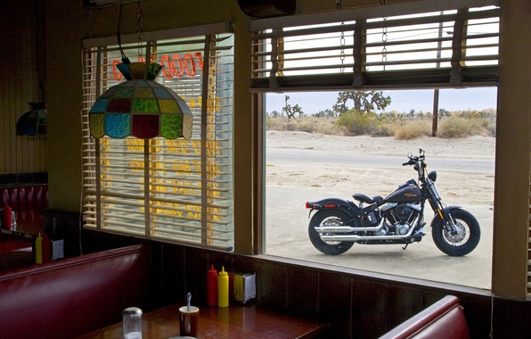 Picture Window, Harley Davidson, Dining room