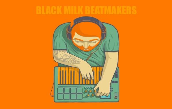 Picture Minimalism, Logo, Logo, mixer, Black Milk Beatmakers