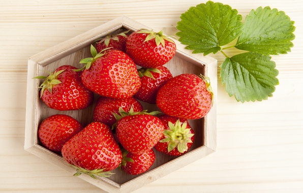 Picture berries, strawberry, red, red, fresh, ripe, sweet, strawberry, berries