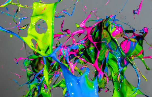 Picture macro, squirt, paint, colorful