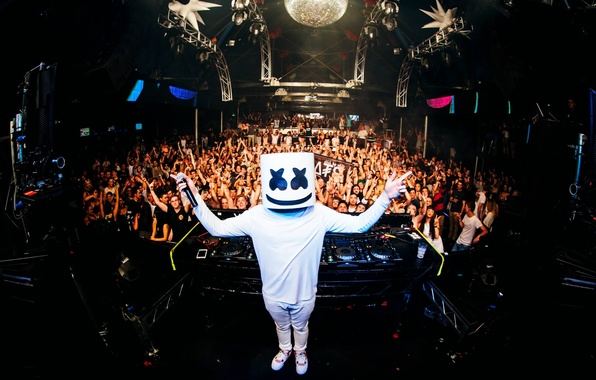 Picture music, club, dance, marshmello
