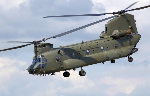 Picture helicopter, Boeing, American, Boeing, heavy, transport, military, longitudinal, CH-47 Chinook, CH-47 Chinook, scheme.