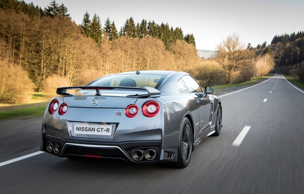 Picture road, car, auto, speed, Nissan, GT-R, road, speed