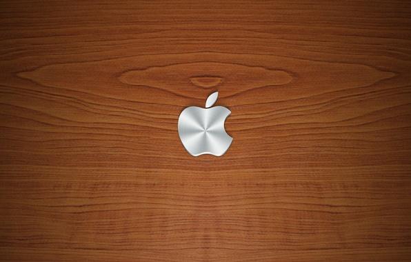 Picture tree, apple, texture, logo
