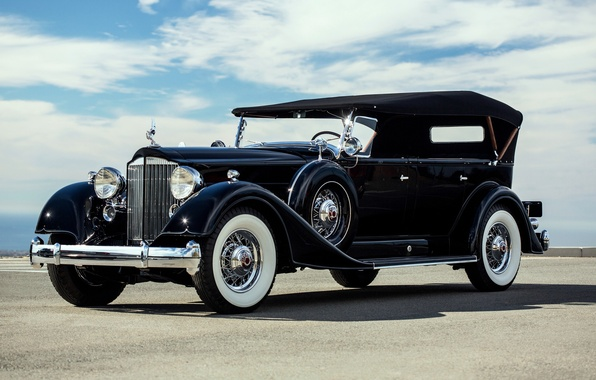 Picture classic, Touring, Twelve, Packard, 1934, 7-passenger, Packard