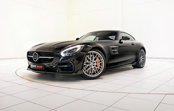Picture black, Mercedes-Benz, Brabus, Mercedes, AMG, Black, BRABUS, AMG, C10, 2015, GT S