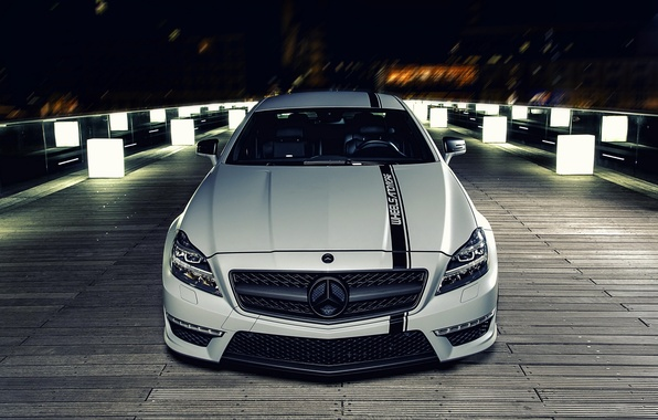 Picture night, tuning, Mercedes, Mercedes Benz CLS