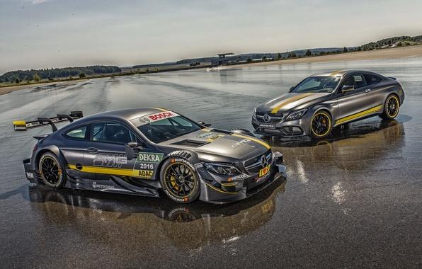 Picture Mercedes-Benz, Mercedes, AMG, DTM, AMG, C 63, 2014, C-Class, C205, Cope